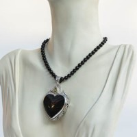 Necklace: Black Onyx with Pendant