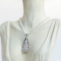 Necklace: Moonstone with Pendant