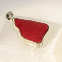Pendant: Red Coral